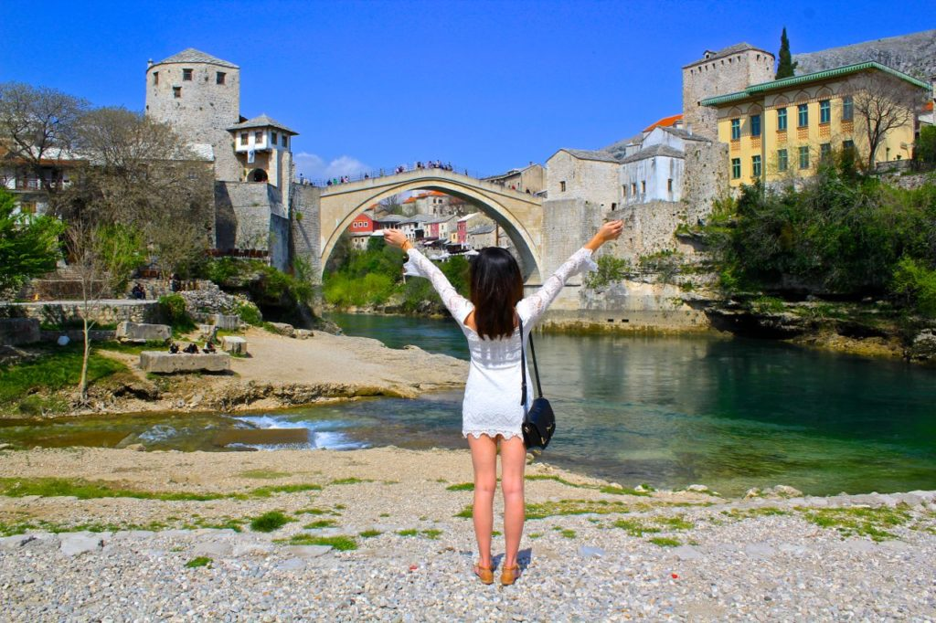 Brooke in Mostar Bosnia | WORLD OF WANDERLUST