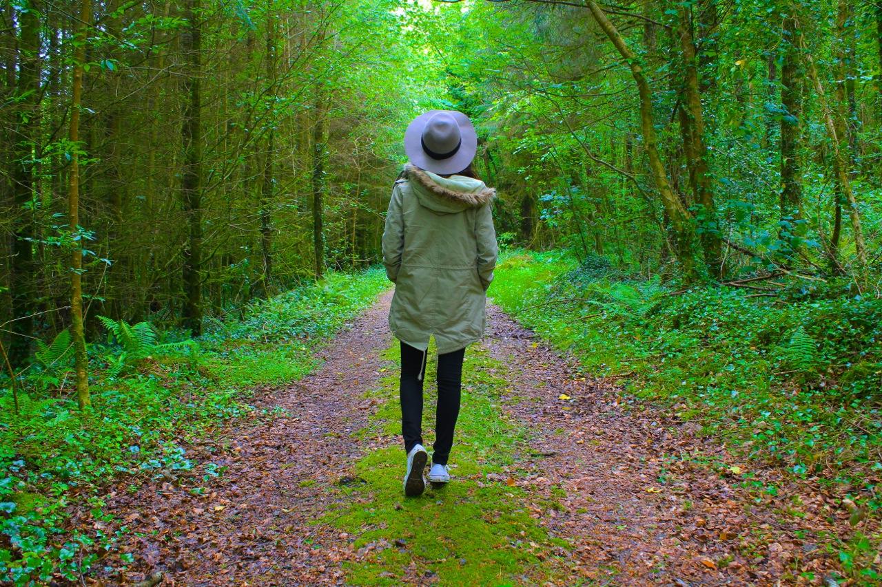 walking brooke