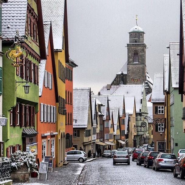 The Cutest German Towns You Should Visit, Dinkelsbuühl