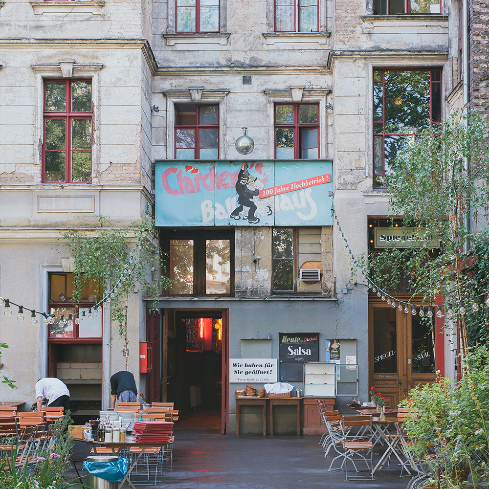 Top Free Things to do in Berlin, Claerchen's Ballhaus