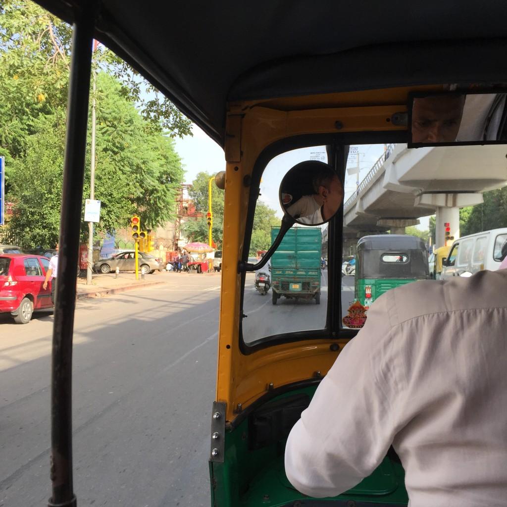 Delhi from a tuk tuk