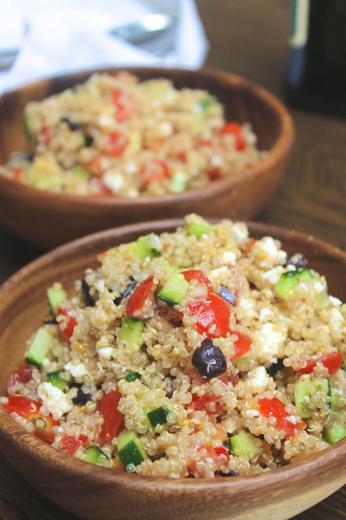 Greek Quinoa Salad Recipe