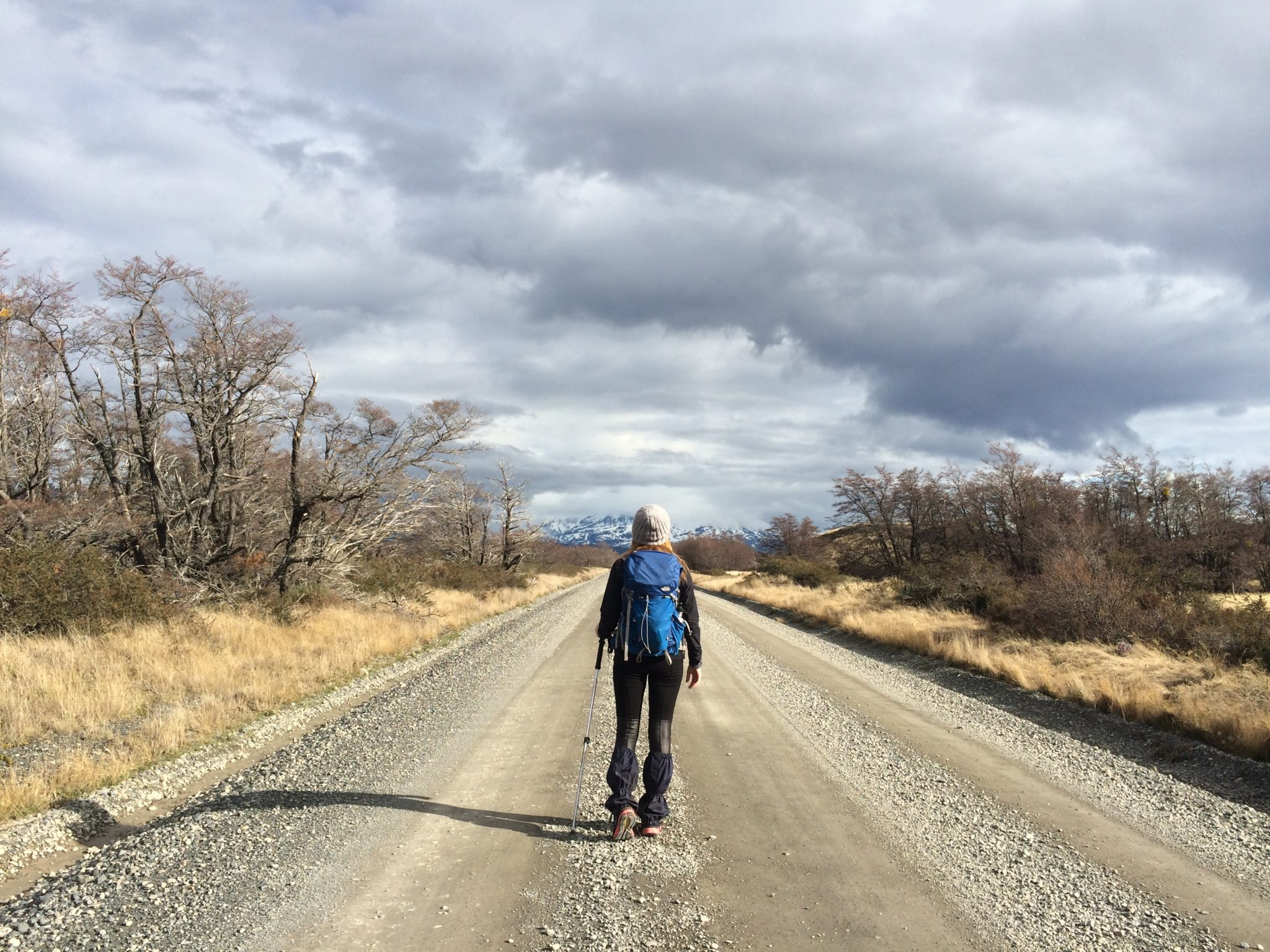 Brooke in Patagonia