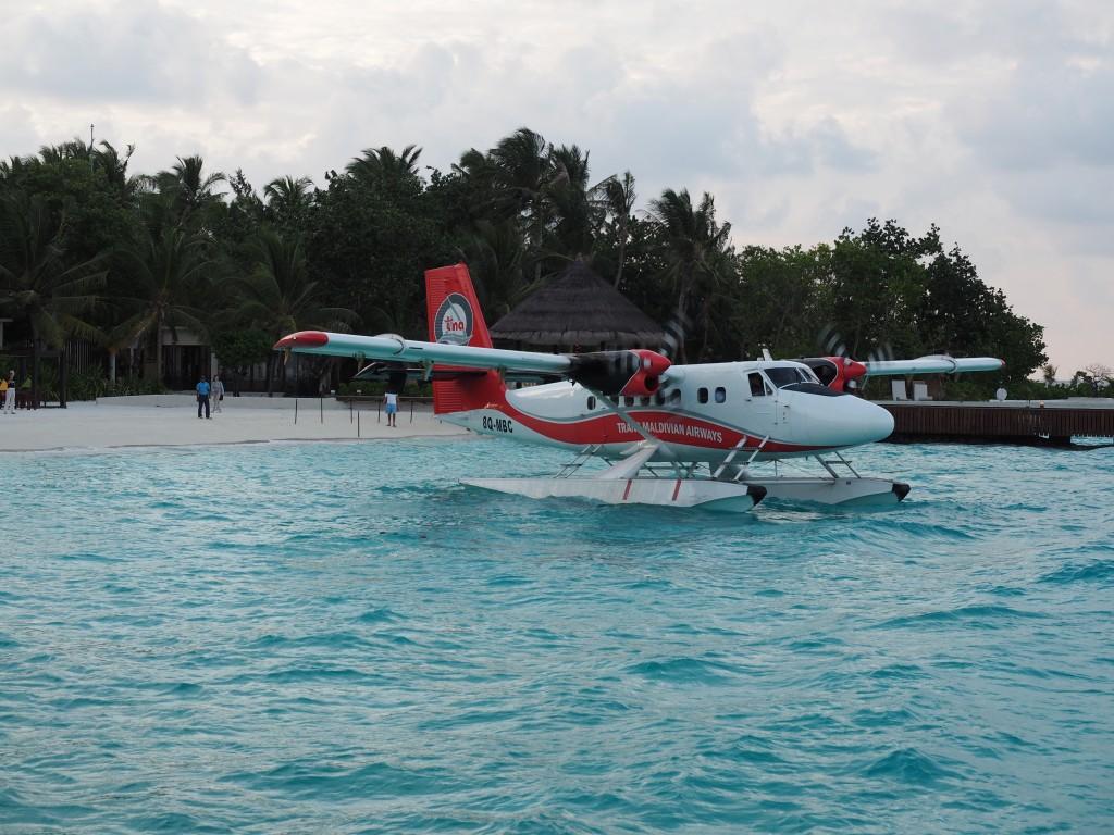 Sea plane Maldives