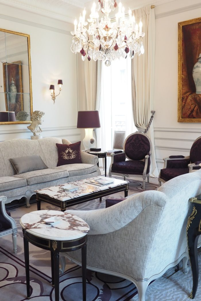 Behind the Facade: A Tour of one of the most luxurious hotels in Paris!