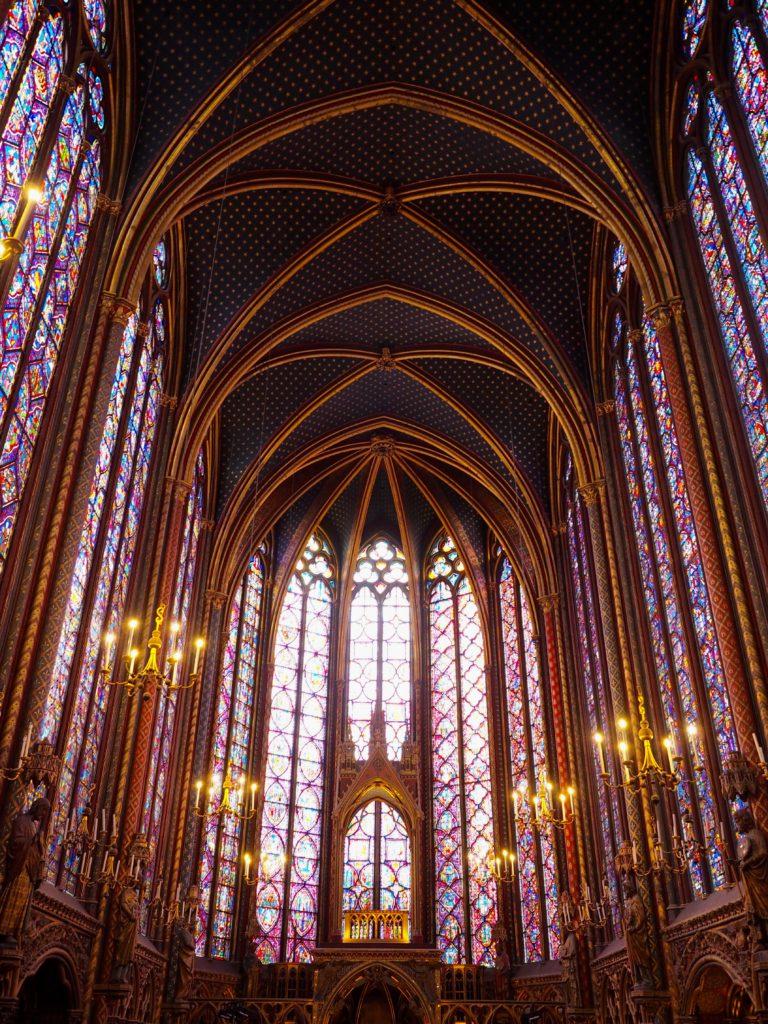 Interior de Saint Chapelle