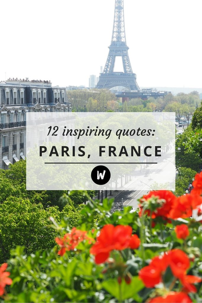 Quotes About Paris