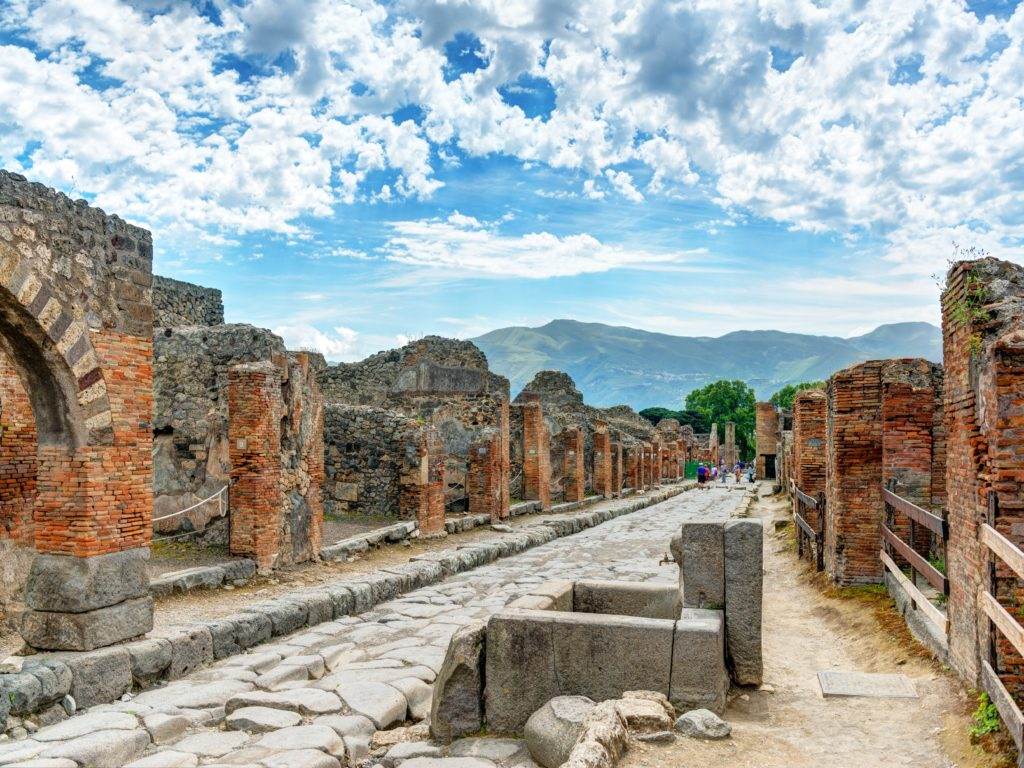 Pompeii via Business Insider