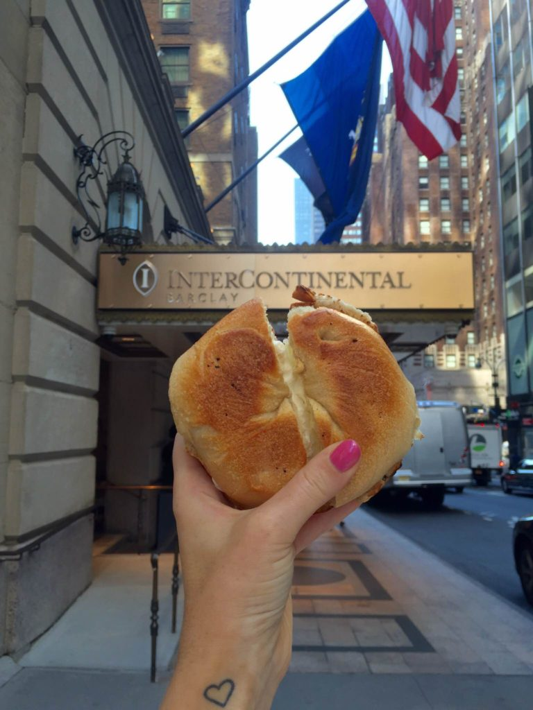 Bagel de Nueva York