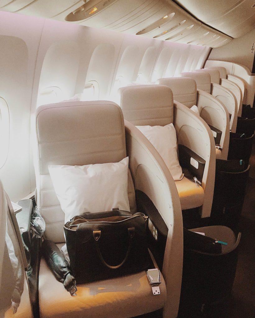 Revisión de la clase ejecutiva de Air New Zealand | Mundo de pasión por los viajes