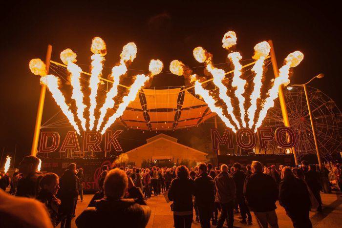 Mofo Festival Tasmania via ABC News