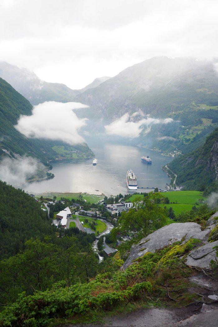 Into the Norwegian Fjords: Exploring Geiranger