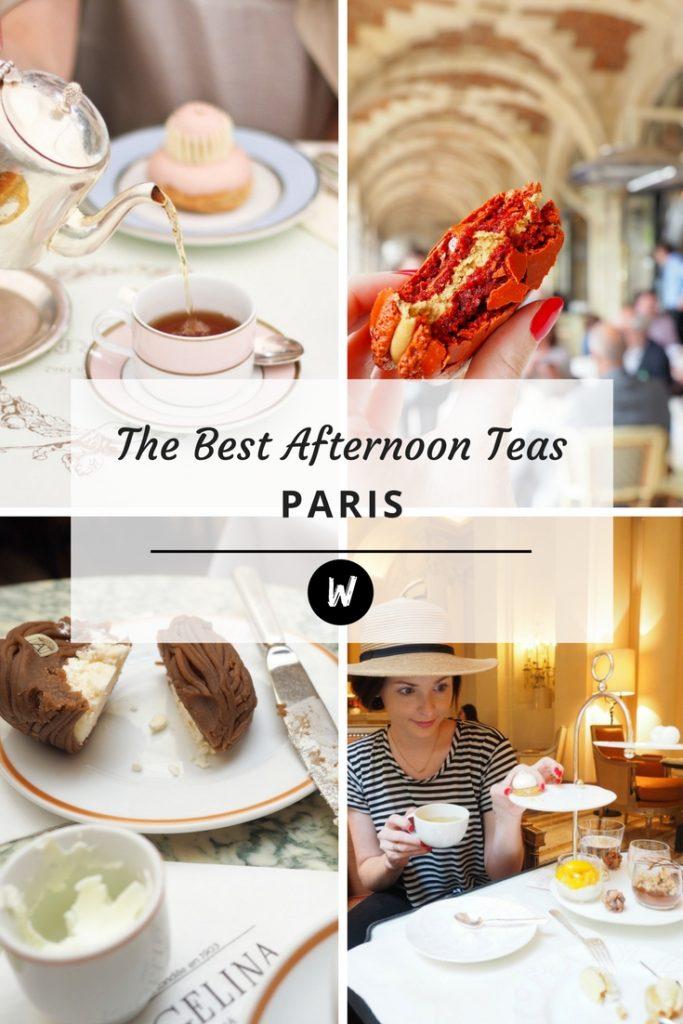 The Best Afternoon Teas in Paris | World of Wanderlust
