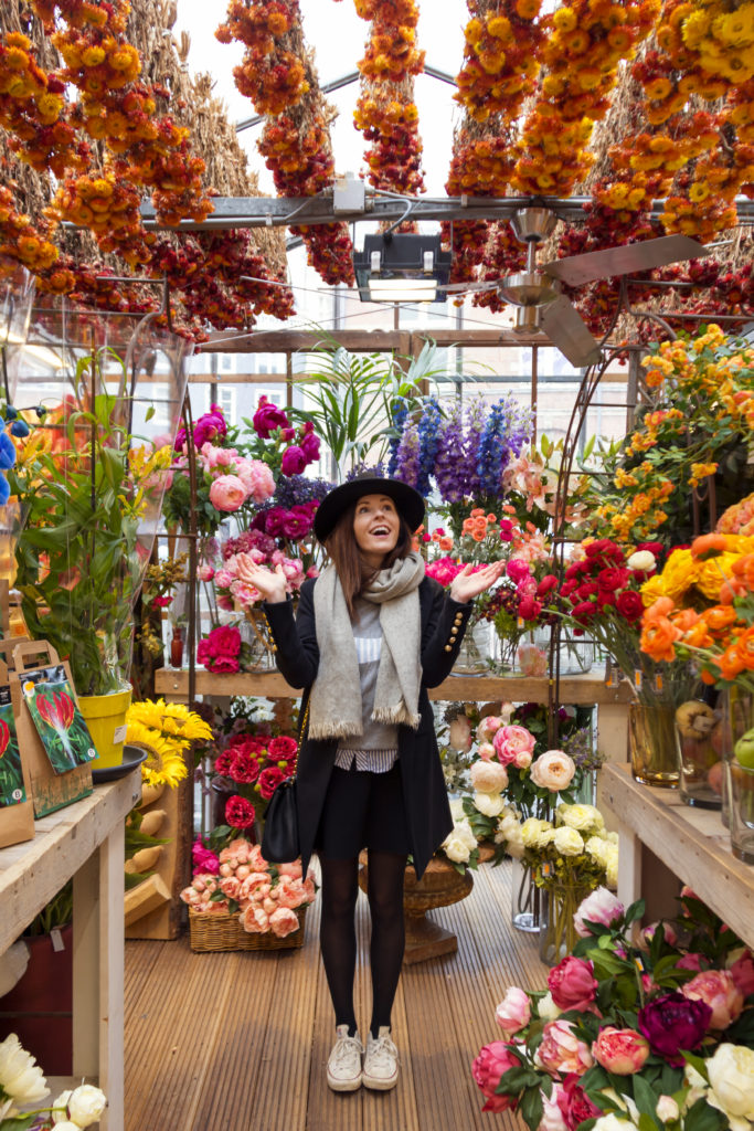 Amsterdam flower market - World of Wanderlust