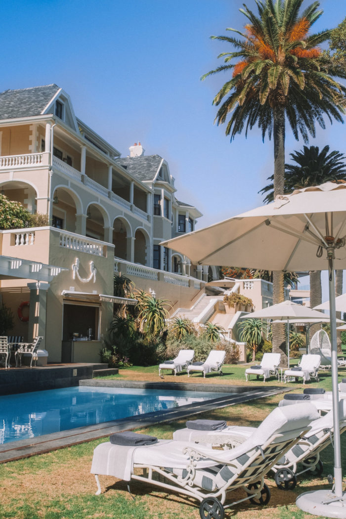 Checking In to Ellerman House, Cape Town