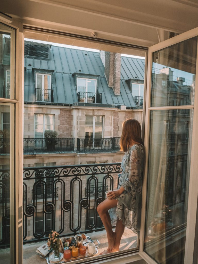 Brooke Saward in Paris