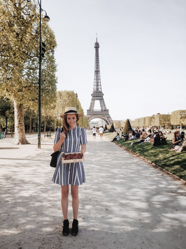 Picnic in Paris | WORLD OF WANDERLUST