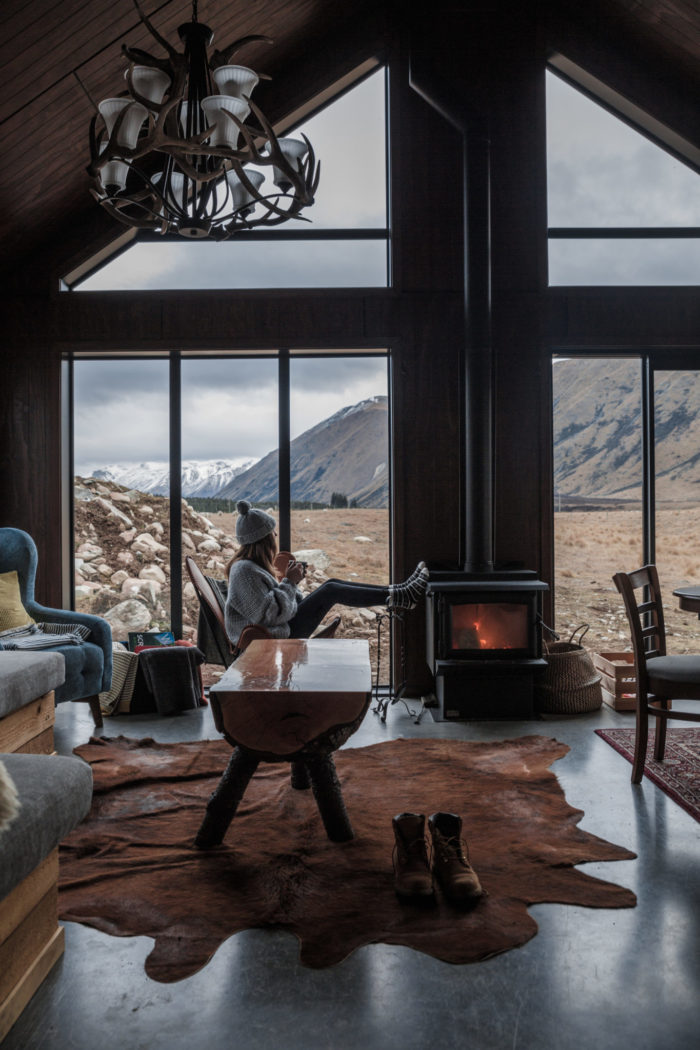 This Cabin in New Zealand is everything you dreamed Cabin Porn would be