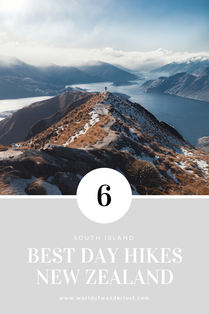 6 Best Day Hikes New Zealand South Island | WORLD OF WANDERLUST