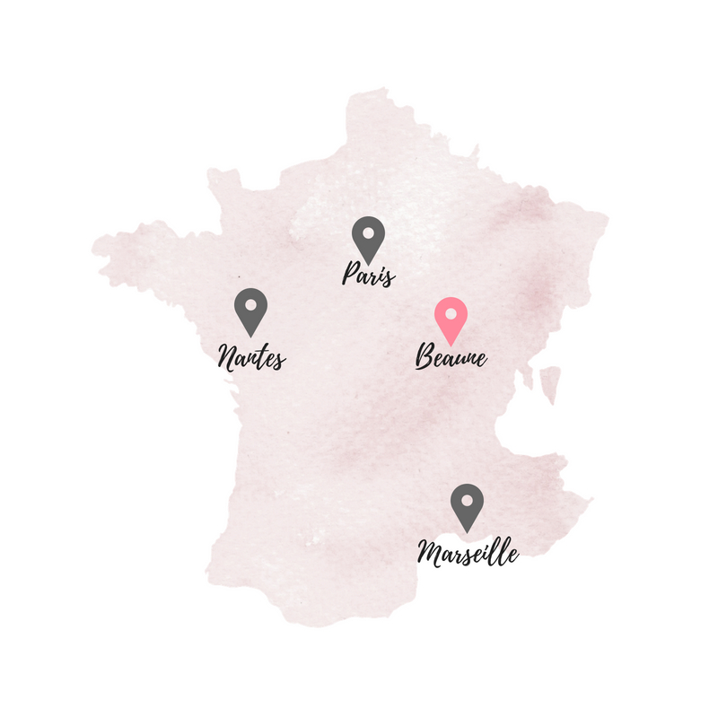 France Map | Beaune by World of Wanderlust