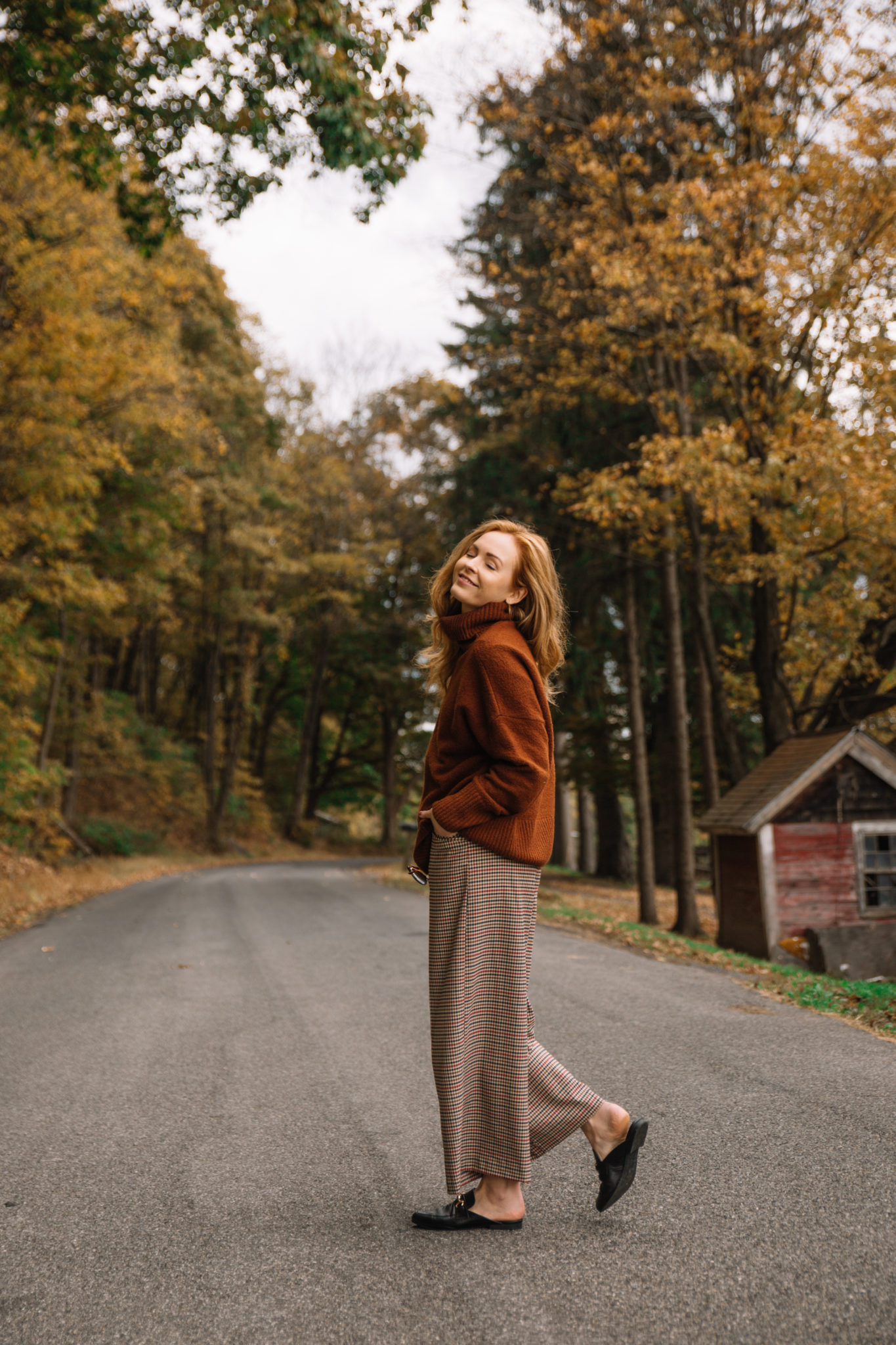 Brooke Saward in Upstate New York
