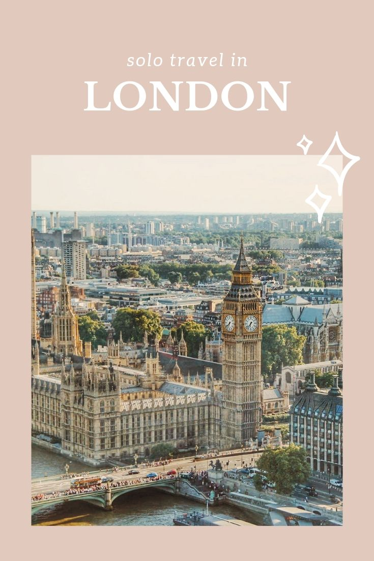 London solo travel | WOW