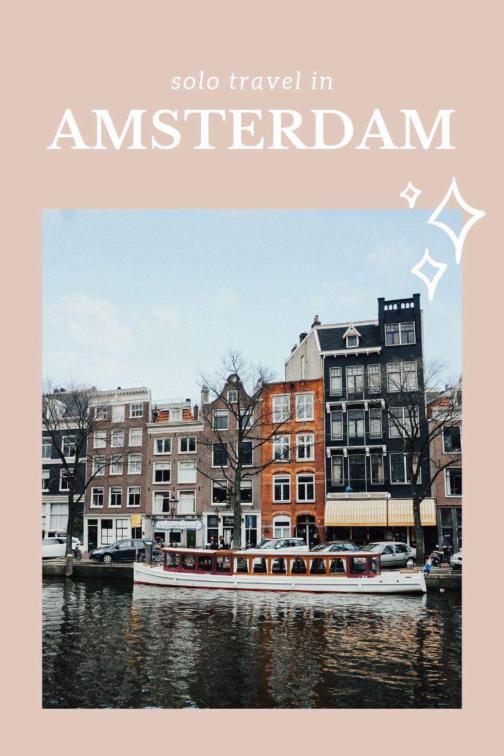 Viajes en solitario a Amsterdam | GUAU