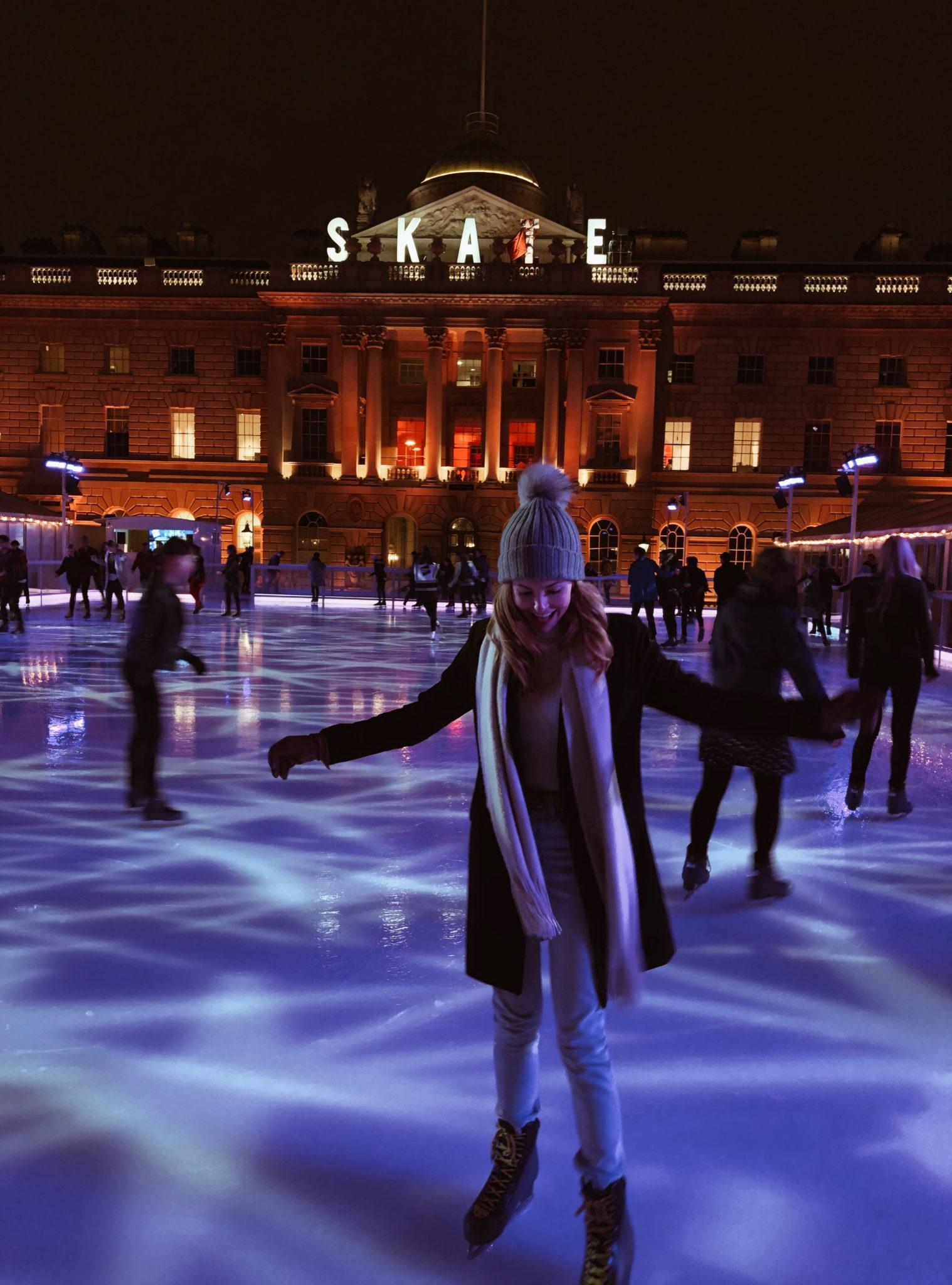 Patinaje sobre hielo en Somerset House