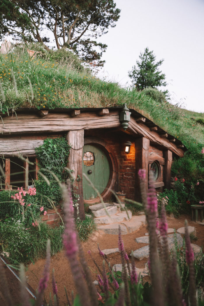 Visiting Hobbiton in New Zealand