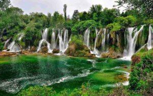 Kravica Waterfall Bosnia