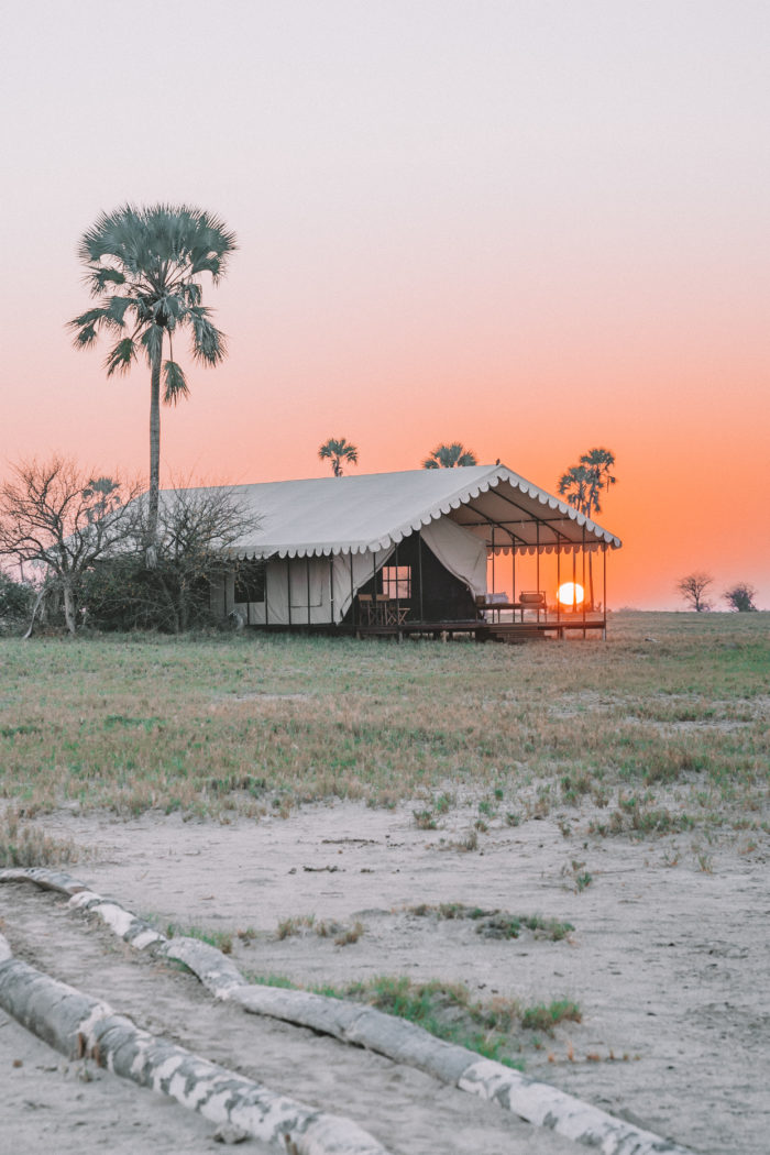 Adventuring in the Kalari Desert at San Camp Botswana