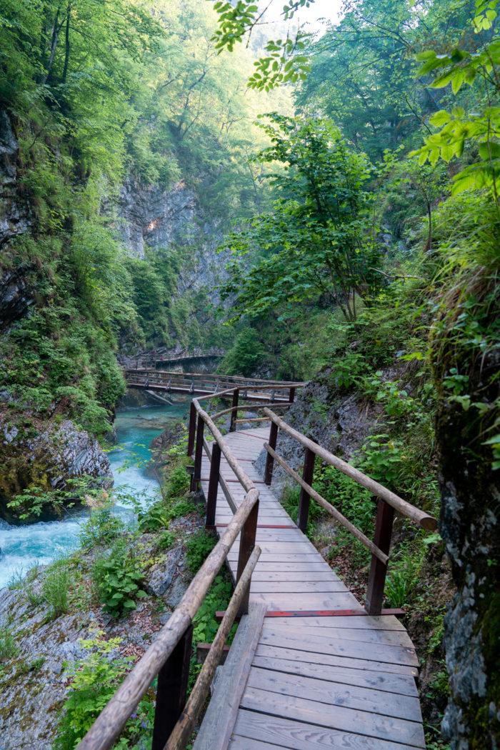 How to visit Vintgar Gorge