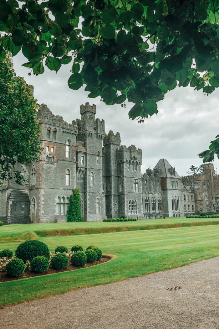 Checking In to Ashford Castle Ireland