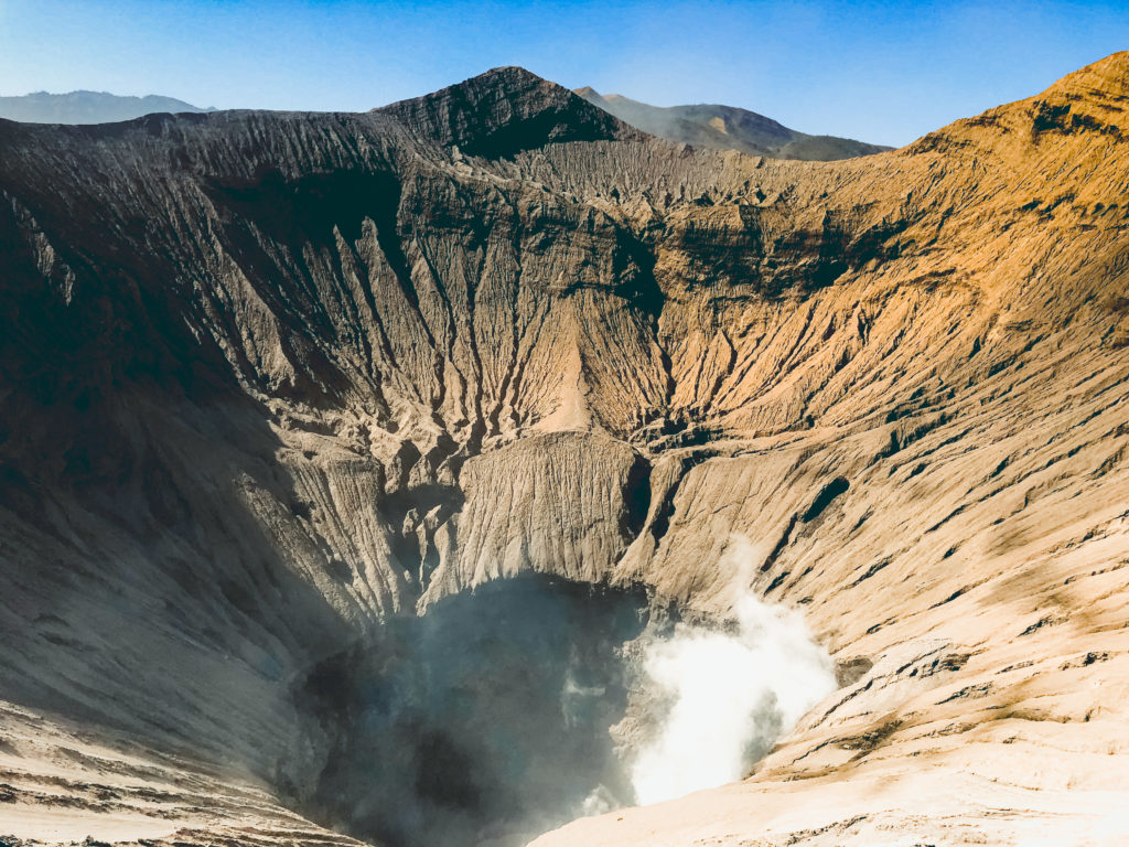 Mount Bromo Crater
