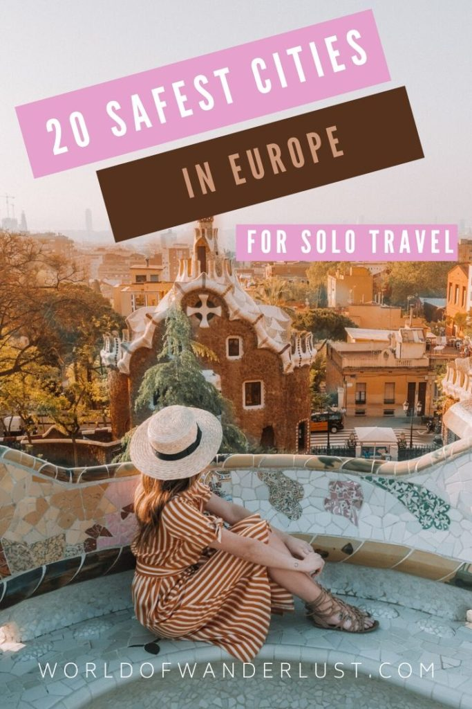 Safest cities for solo travel in Europe | WOW