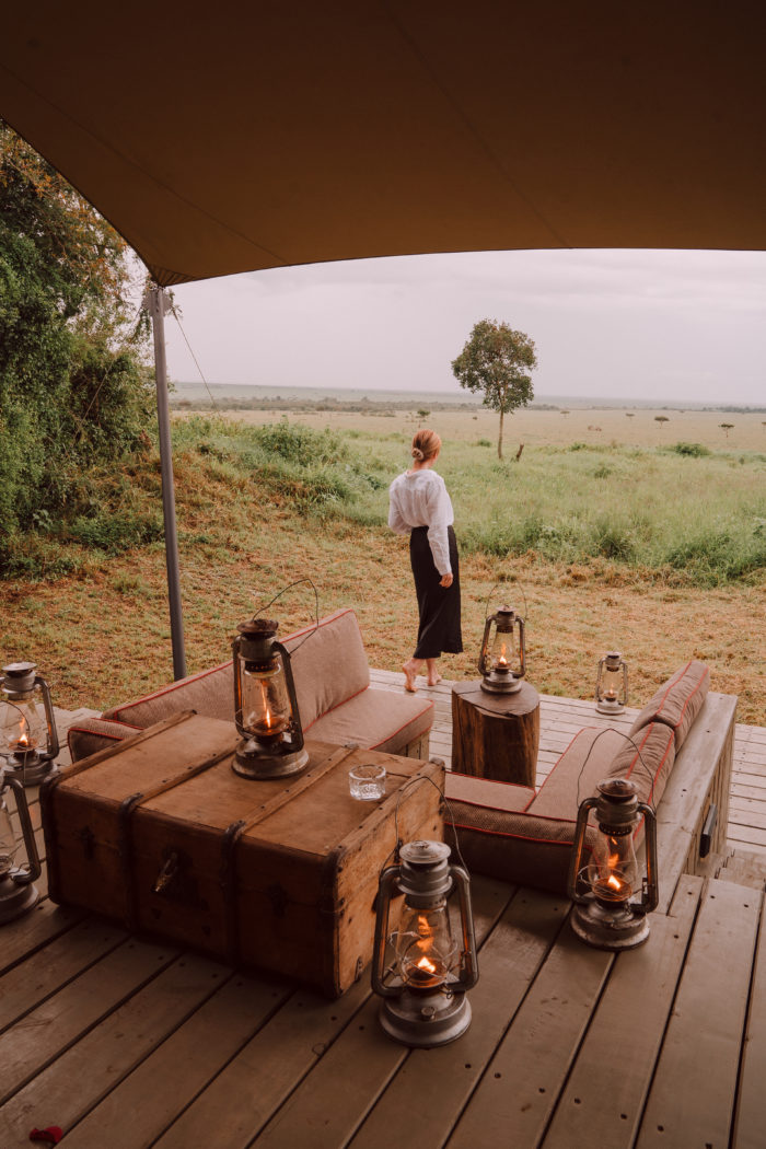 Checking In to And Beyond Bateleur Camp in Kenya