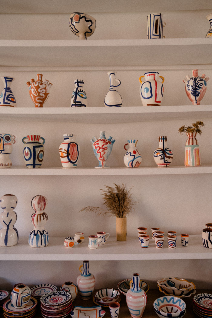 Inside the LRNCE Studio, Marrakech
