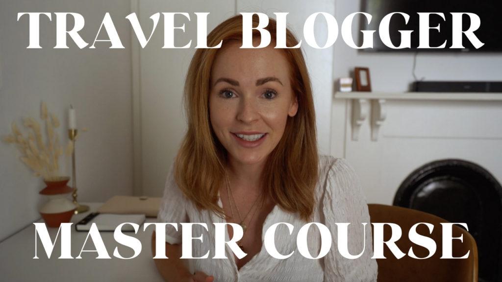 Travel Blogger Master Course