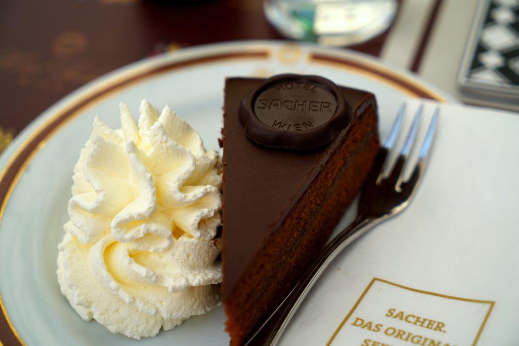 Sacher Tort Vienna Austria