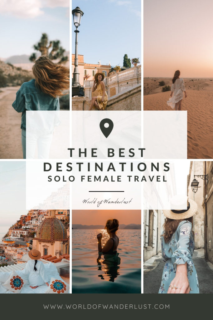 The best places for solo female travel