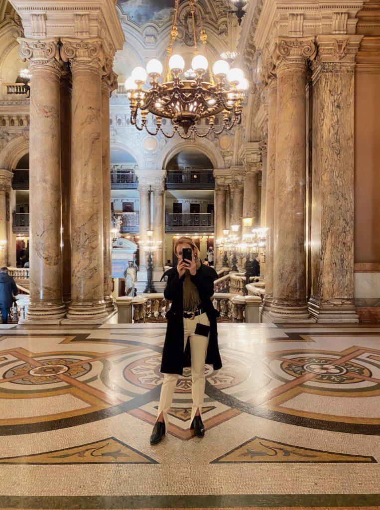 Visiting the Palais Garnier