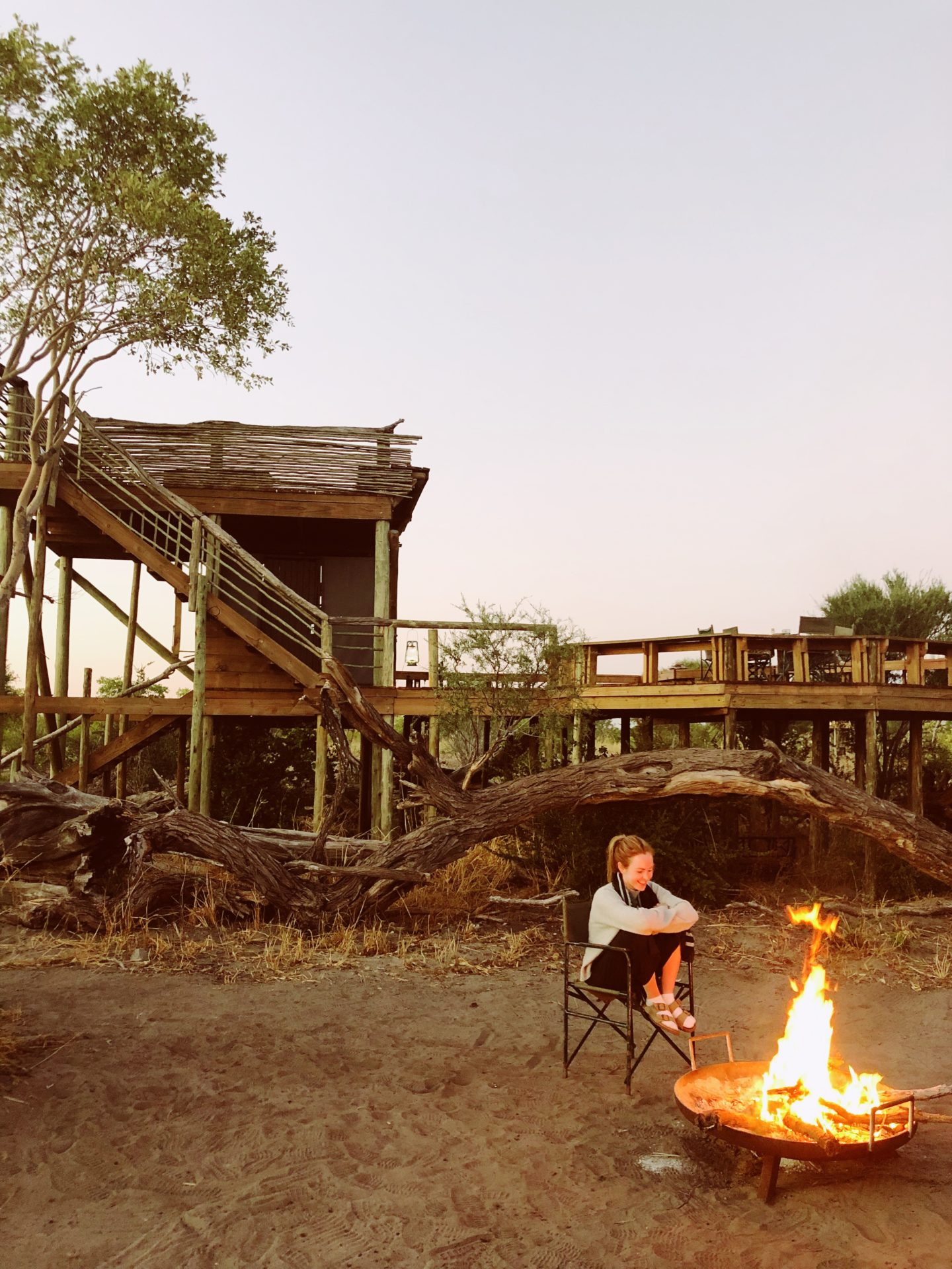 Staying at the Skybeds Botswana