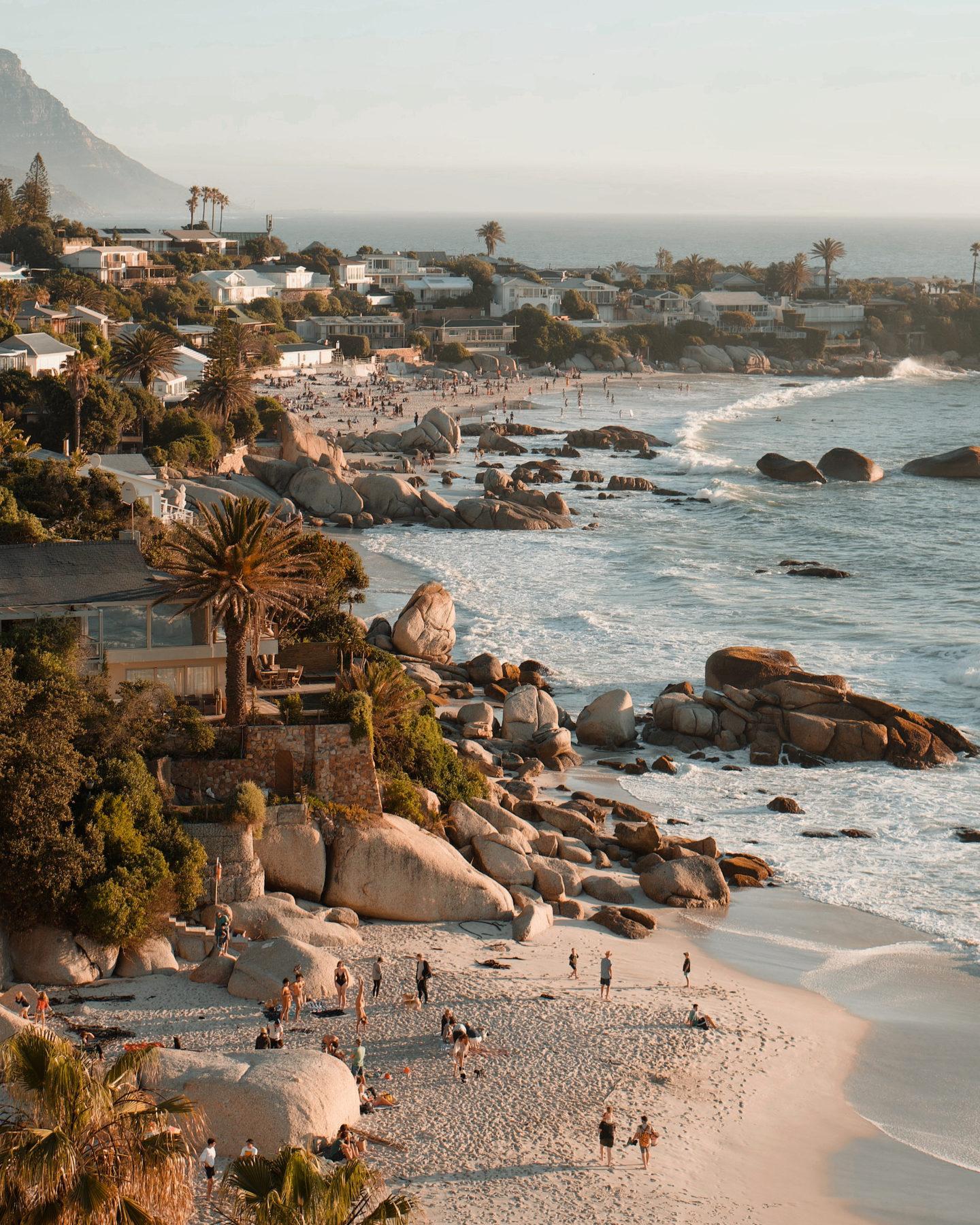 Cape Town Clifton Beach Sunset