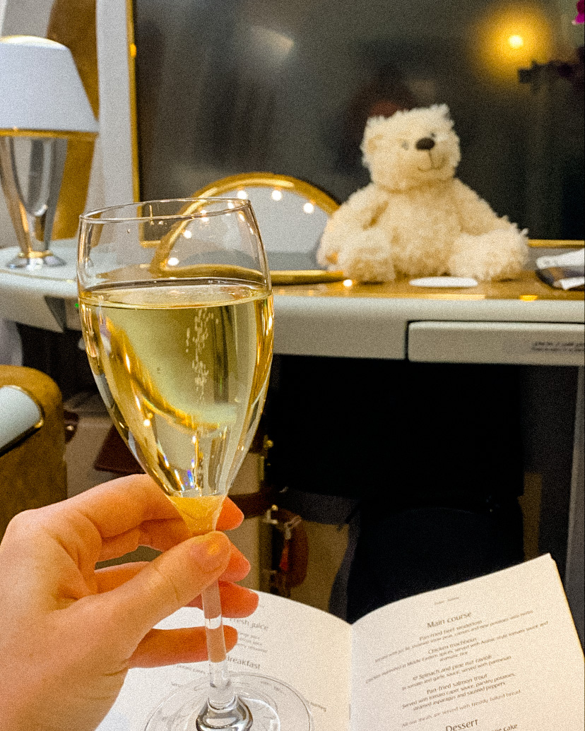 Emirates first class review
