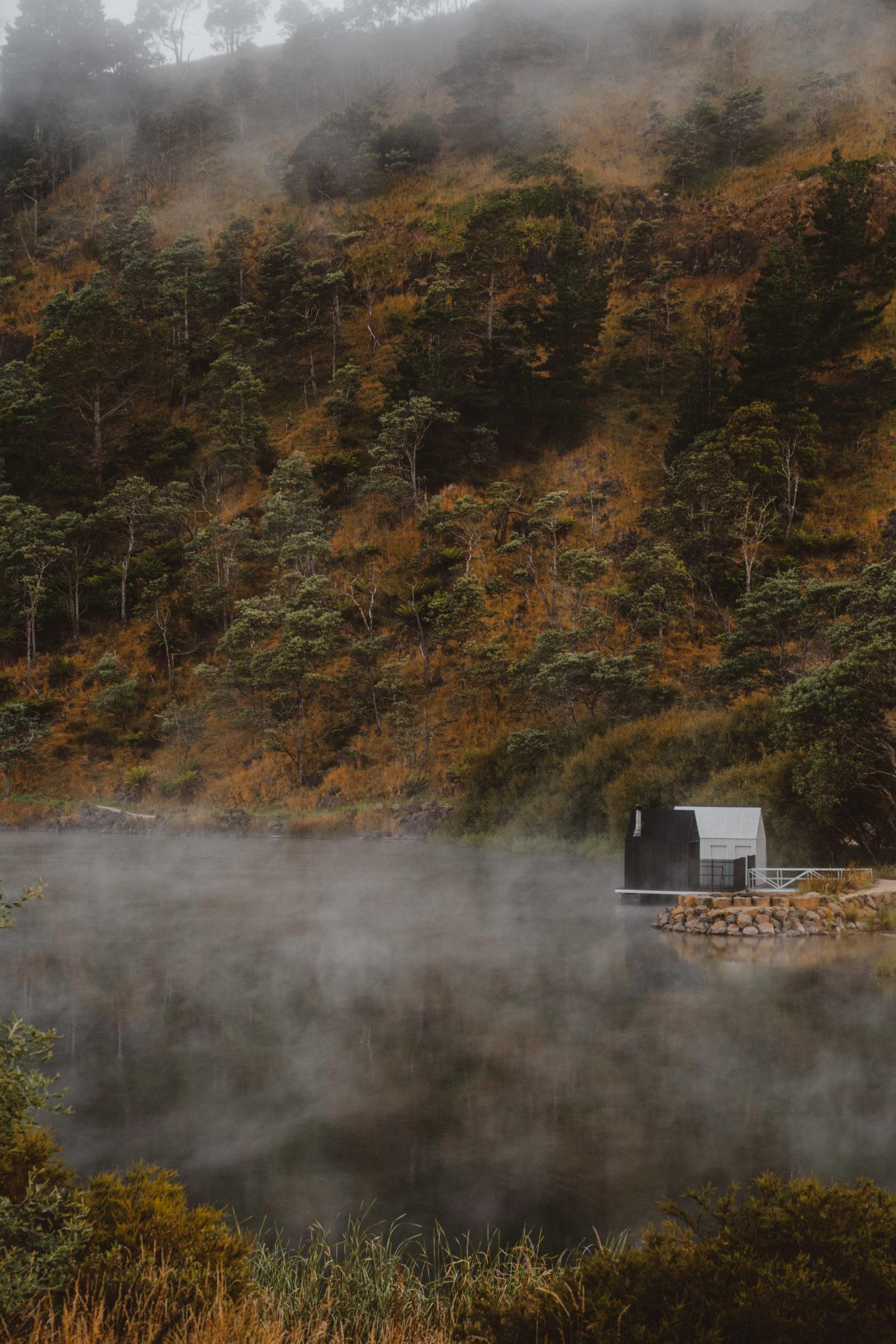 Floating Sauna Derby Tasmania | World of Wanderlust